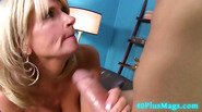 MILF Takes Thick Cock In Her Mouth