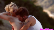 Classy babe licked and fucked outdoors
