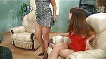 Jessica&Miriam horny anal lesbian video