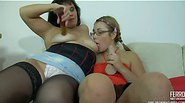 hot Kathleen&Miriam vivid lesbian mature action