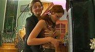 hot Leonora&Stephanie pussyloving mature on video