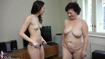 OldNanny Sexy girl masturbate hairy granny pussy