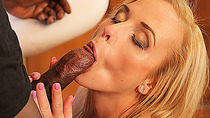 BLACK4K. Warming up with big black dick is perfect choice for blonde