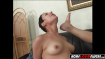 Milf loves strapon, anal sex and femdom with her partner