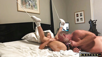 60yr old granny tied up and banged to orgasm