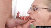 Klara is a 68 year old blonde, who still gets the urge to