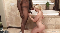 Blondie could perky for a black cock