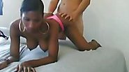Doggy pounding for my new black girlfriend