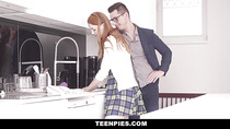 TeenPies - Big Dick Creeper Cums Inside Petite Ginger Teen