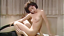 Asian Japanese Female Chiaki Fucks Home Retro