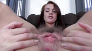 Gaping and gyno opening her adorable snatch
