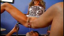 Lovely mistress gets her pussy licked