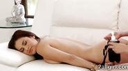 Penny Pax teases stunning Latina Vanessa with hot massage