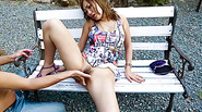 Outdoor sex adventure with superb Japanese Aika