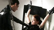 Hot domina playing with a slave girl