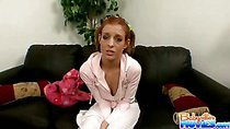 Hot Riley shows clit