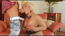 German MILF get fucked by young horny guy