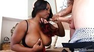 Juicy Jada Fire loves to get fucked by white dick