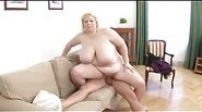 Fat amateur BBW get fucked hard and spanked