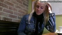 Blonde Eurobabe Beata fucked for money