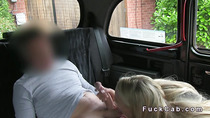 Cab driver gets rimjob and blowjob