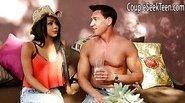Gulliana Alexis seduced by horny couple