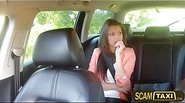Super sexy slim teen amateur Liona gets banged during a taxi ride