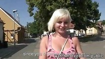 Sweet chick Alexis Leone fucks for money