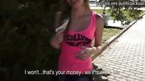 Cute Eurobabe Angelica fucked for cash