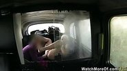 Big tits Princess fucked inside the taxi