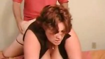 Chubby housewife fucked hard from behind