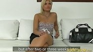 Amateur babe Kitti fucked by fake agent