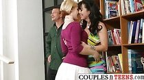 Threesome Banging with Ash Hollywood and RayVeness