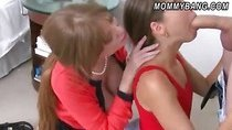 Darla Crane and Riley Reid hot threesome