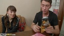 College sexdoll is seduced and fucked scene 1