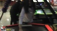 Public fuck on homemade sex tape