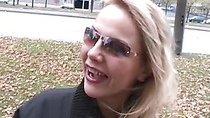 Blonde fucked for 200 bucks on the street