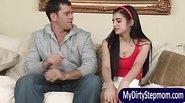 MILF Rayveness teaches teens sex lesson