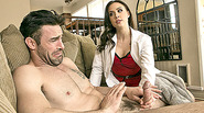 Lusty doctor Chanel Preston fucked by her married patient