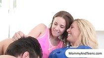 Cherie Deville and Jasmine Wolff 3some