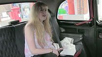 Busty euro amateur gets rammed in taxi and receives spermy douche