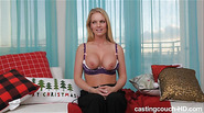 Knockout amateur blonde doggie pounded into submission by our HUGE black cock Kendra deep sucks too