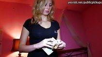 Amateur Maya Angel banged with stranger