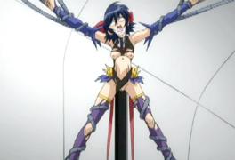 Hentai super girl pole