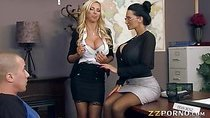 Amy Anderssen n Nikki Benz hot threesome