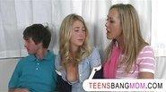 MILF honey Brandi Love joins horny teens