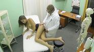 Sexy patient babe Silvie needs sex life