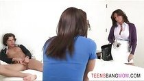 Mischa Brooks lets her stepmom join in