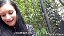 Amateur Rosalinda flashes her huge boobs