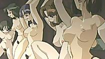 Bondage hentai girls groupfucked